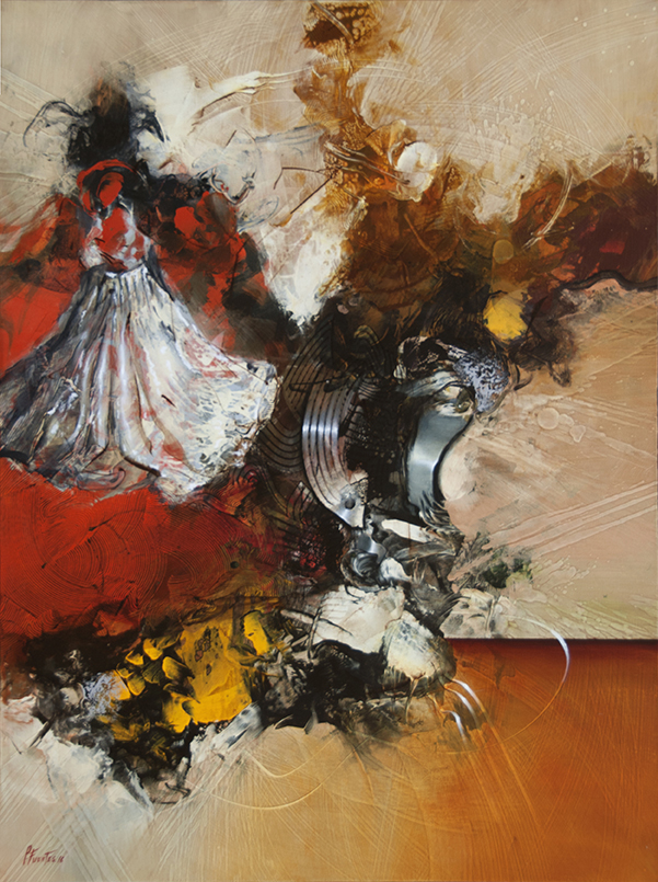 pedro-fuertes-gypsy-dance-30x40-in-0il-0n-canvas